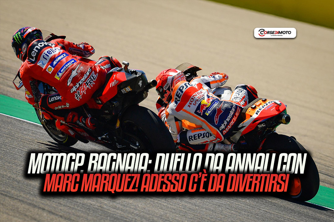 MotoGP: Bagnaia, an historic duel with Marquez. Now it is enjoyable - Motor Informed