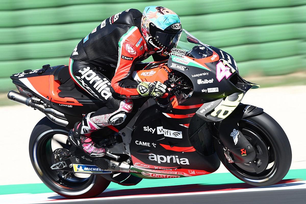 Aprilia's Espargaro heads remaining day of mid-season MotoGP Misano check - Motor Informed