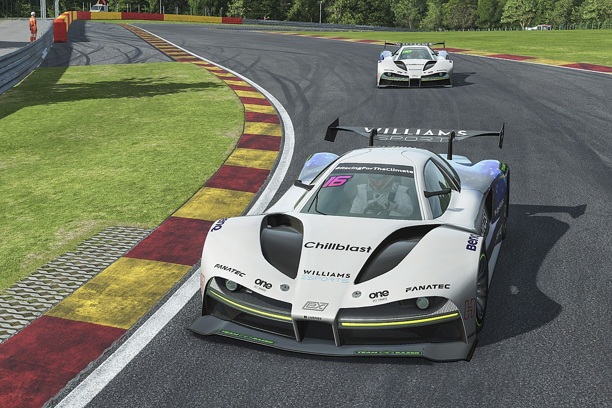 Bruno Senna leads 1-2 victory for Williams Esports in Belgium - Motor Informed