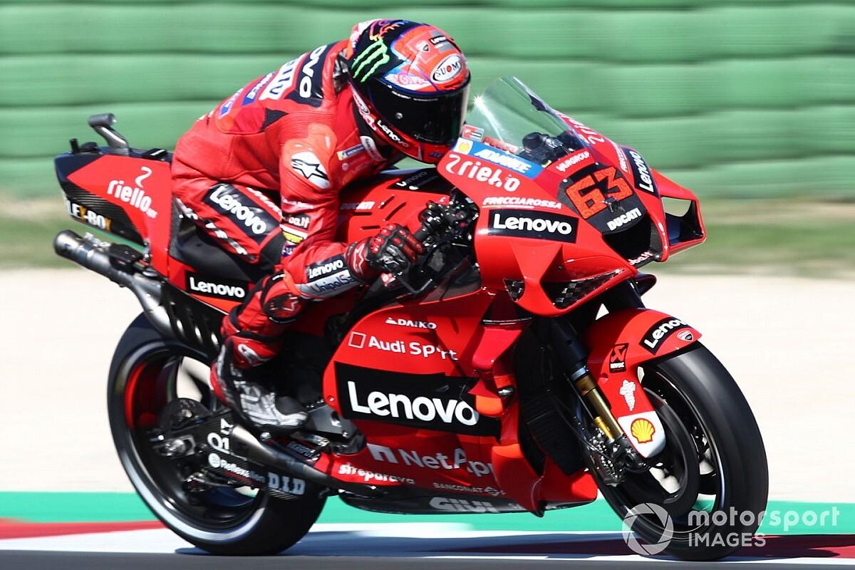 Misano MotoGP take a look at: Bagnaia tops opening day regardless of crash - Motor Informed