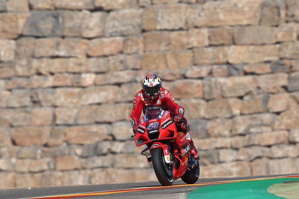 Aragon MotoGP: Miller leads Espargaro in FP2, Marquez crashes - Motor Informed