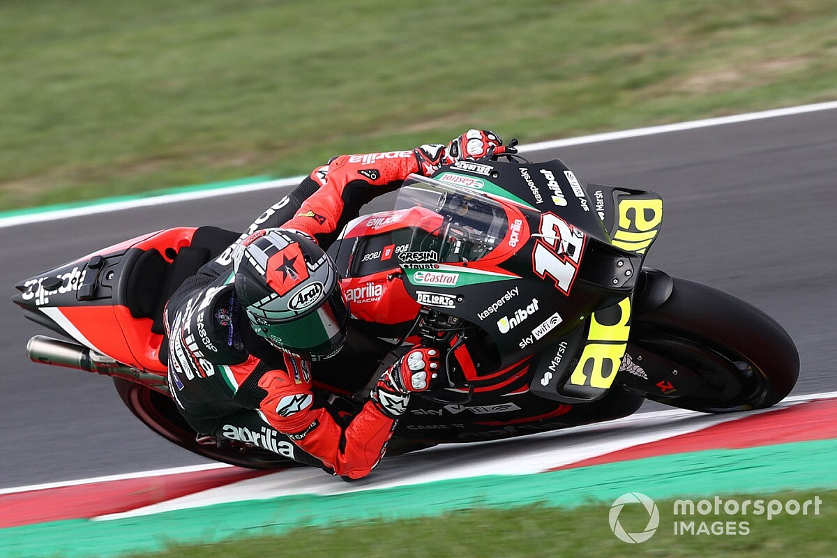 "Vinales ""happy"" with Aprilia MotoGP transfer - Motor Informed"