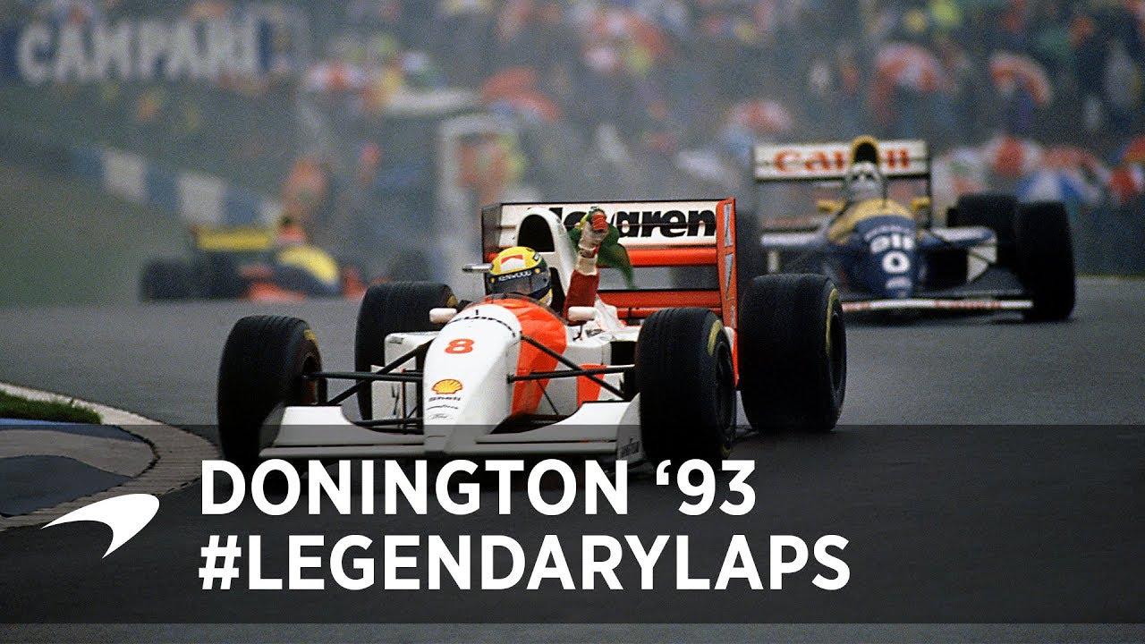 Legendary Laps   Ayrton Senna at Donington '93 - Motor Informed
