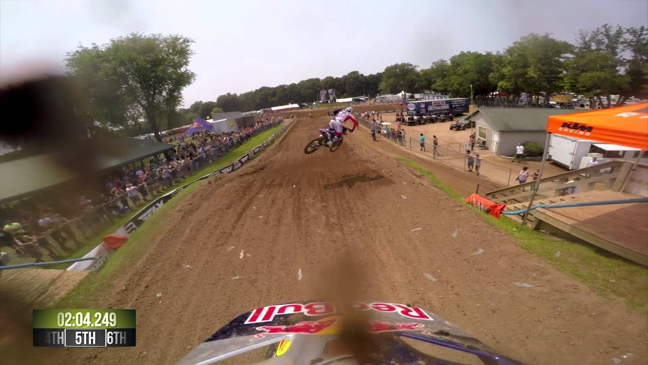 GoPro: Ken Roczen Moto 1 - Red Bud MX Lucas Oil Pro Motocross Championship 2015 - Motor Informed