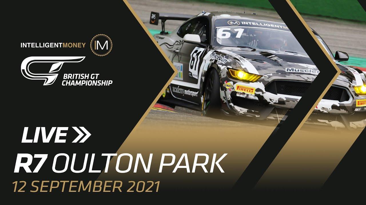 LIVE | British GT - Oulton Park - R7 - Motor Informed