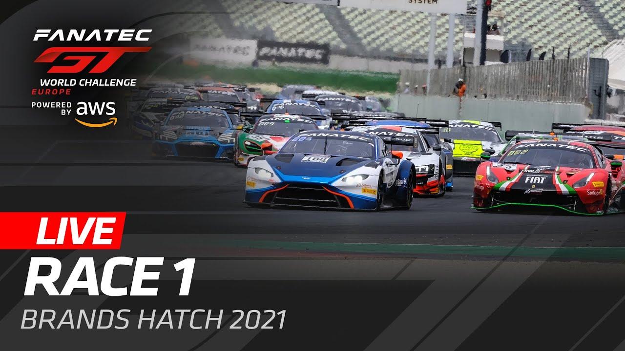 RACE 1 | BRANDS HATCH | GT WORLD CHALLENGE 2021 - Motor Informed