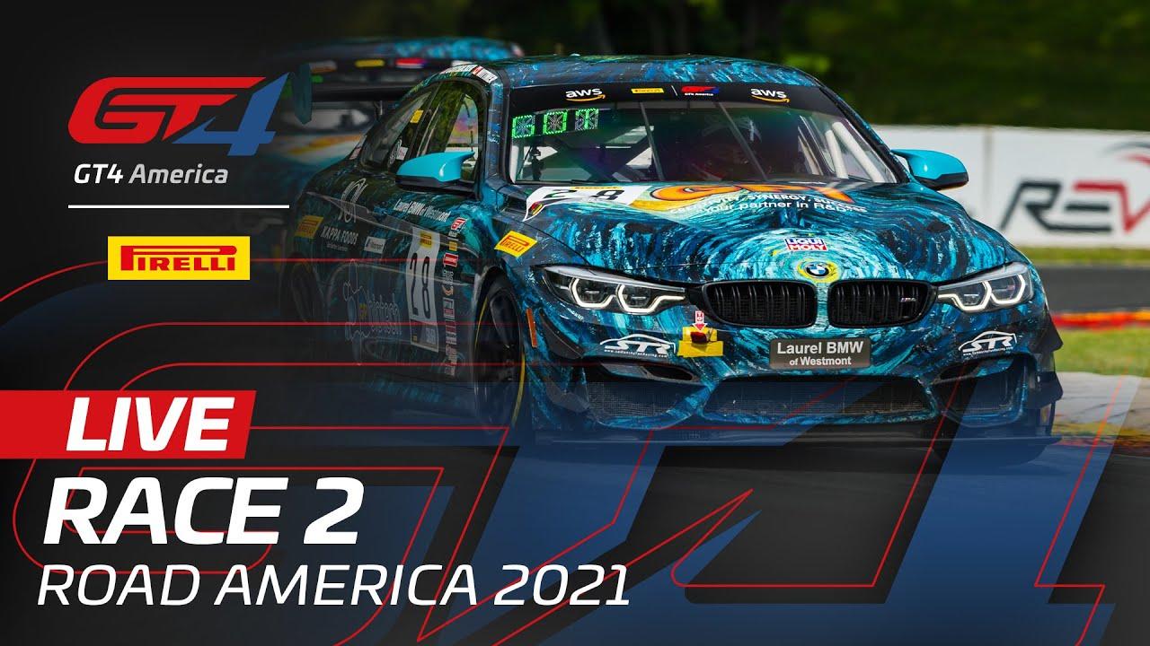RACE 2 - ROAD AMERICA - PIRELLI GT4 AMERICA 2021 - Motor Informed