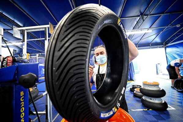 The tires of the GP of Aragon - GP Inside - Motor Informed