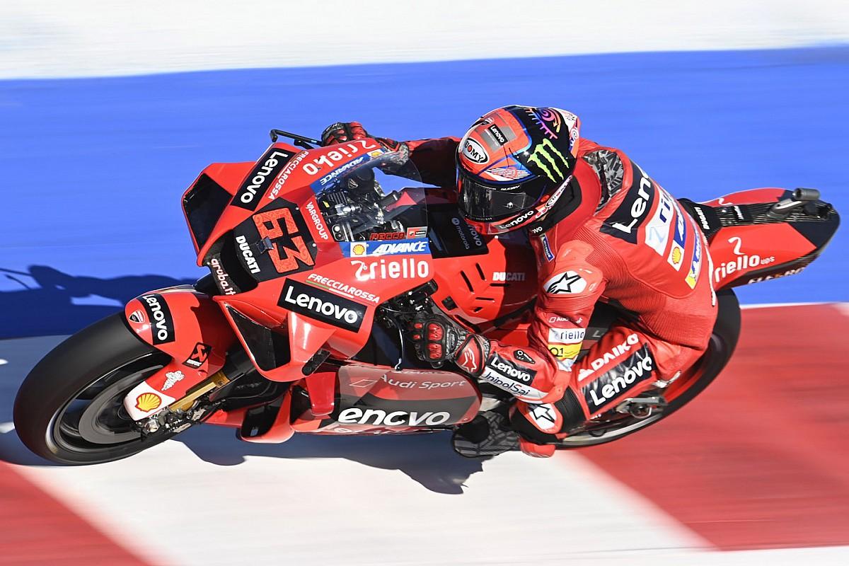 Misano MotoGP: Bagnaia takes pole in crash-strewn qualifying - Motor Informed