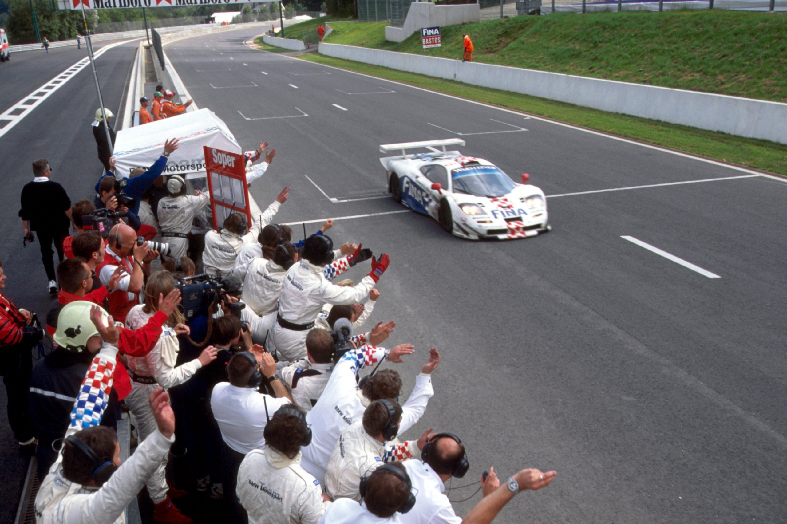 McLaren initially looked to have been the better bet in 1997, winning four of the first five races in the FIA GT championship - only to withdraw at season's end