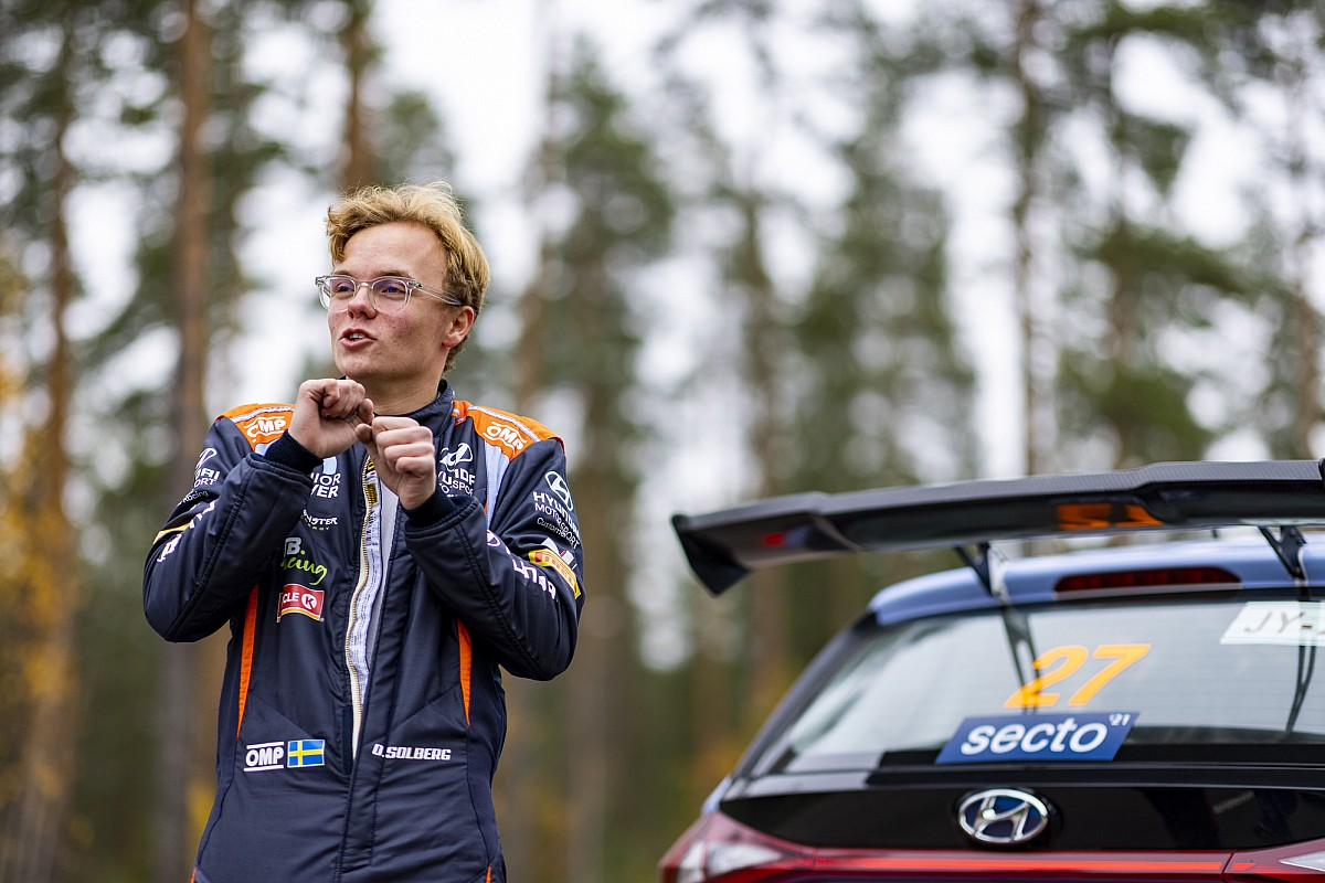 Oliver Solberg promoted to Hyundai for 2022 - Motor Informed