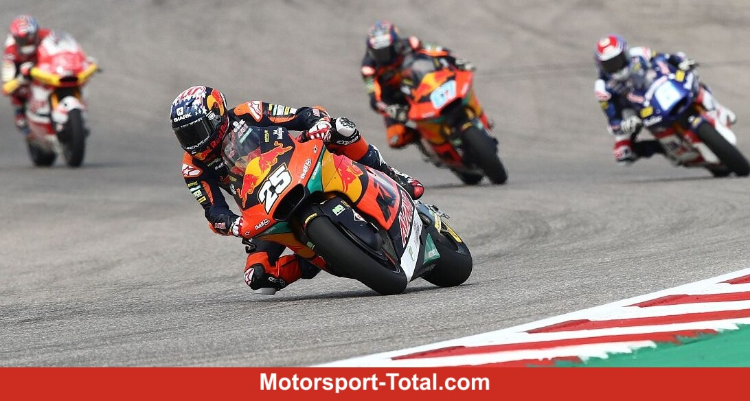 Moto2 Austin 2021: Fernandez wins, Gardner falls - Motor Informed