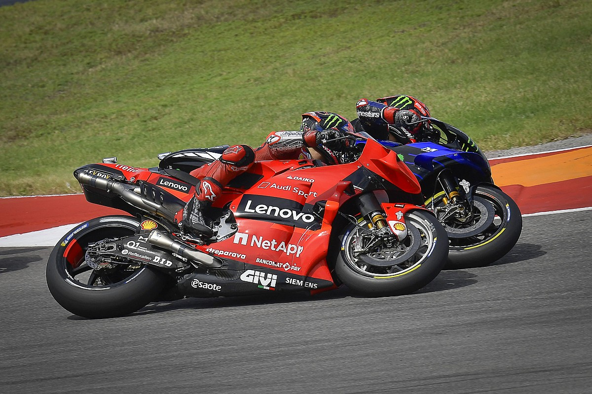 """For Ducati, it's """"crucial to battle"""" to the tip - Motor Informed"""