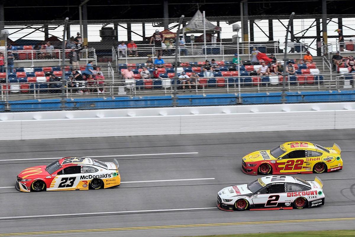 "Keselowski let Talladega NASCAR victory ""slip away"" - Motor Informed"