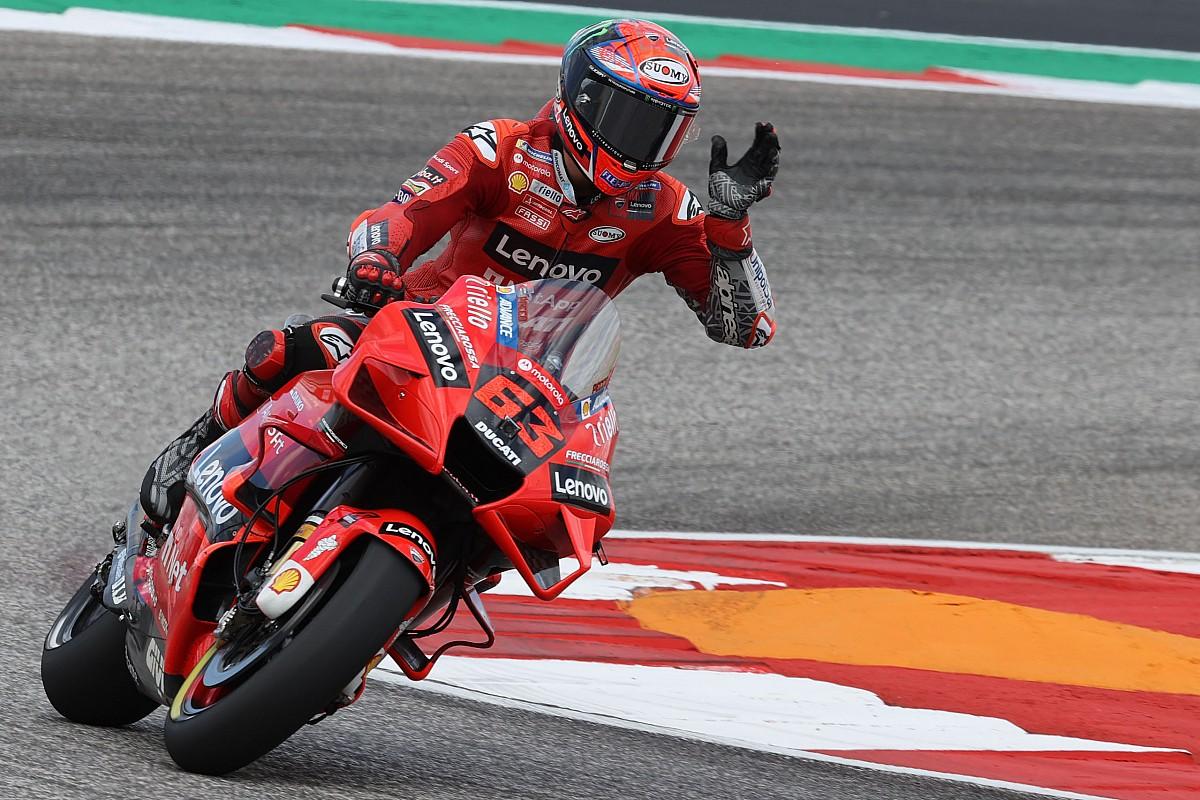 Americas MotoGP: Bagnaia claims third consecutive pole to beat Quartararo - Motor Informed