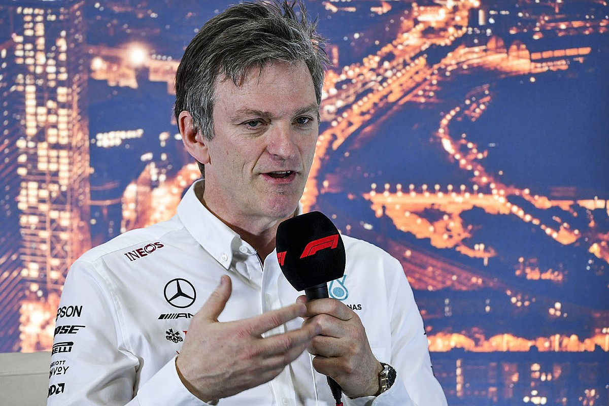 Mercedes F1 sends Allison to America's Cup - Motor Informed