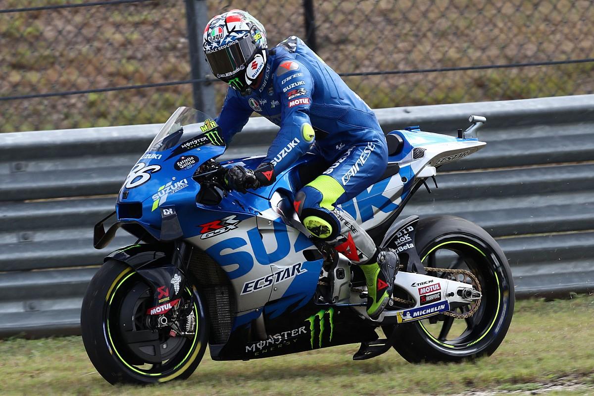 "Mir was ""scared"" when Suzuki blew up in Americas MotoGP FP4 - Motor Informed"