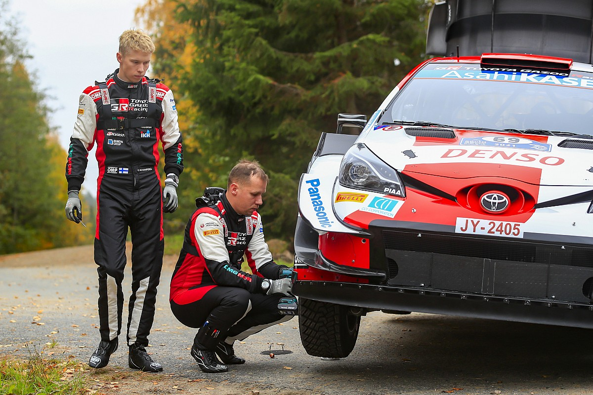 Rovanperä's absence from the Energy Stage defined by Toyota - Motor Informed