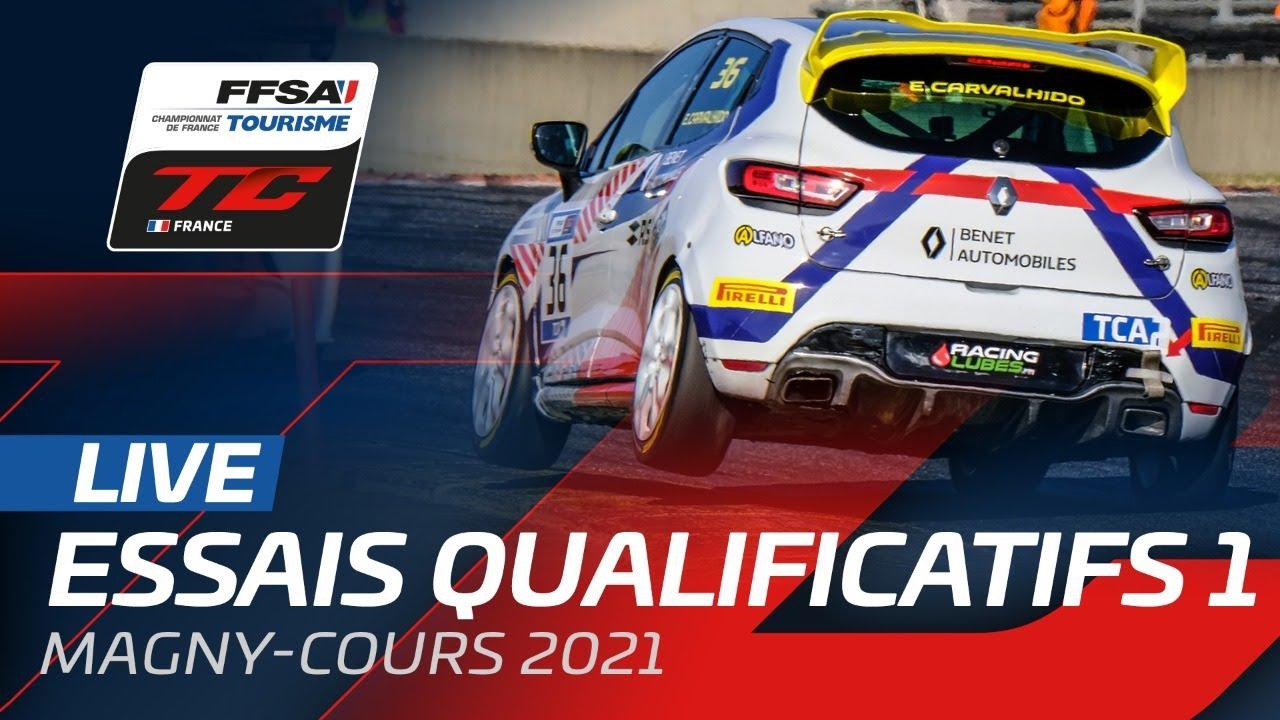 Essais Qualificatifs   Magny Cours   Championnat de France FFSA Tourisme - Motor Informed
