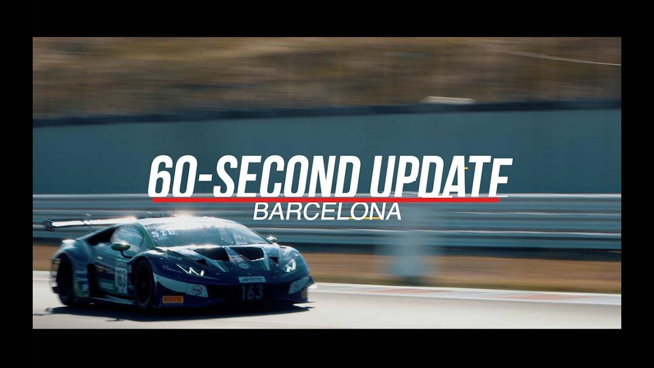 60 SECOND UPDATE! - Barcelona - #GTWorldChEu 2021 - Motor Informed