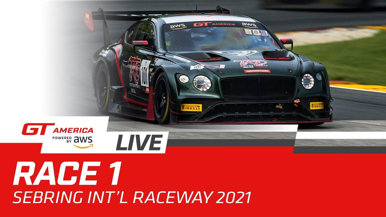 RACE 1 | SEBRING | GT AMERICA 2021 - Motor Informed