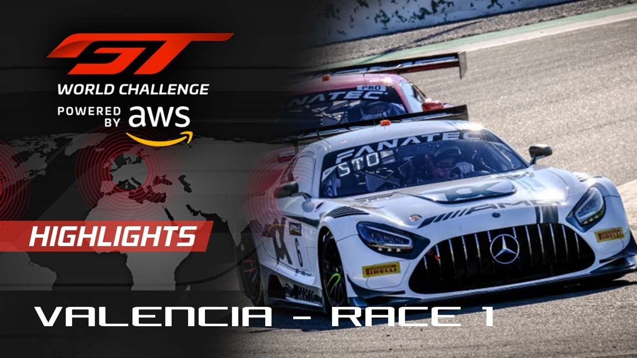 Race 1 Highlights | Valencia 2021 | GT World Challenge Europe - Motor Informed