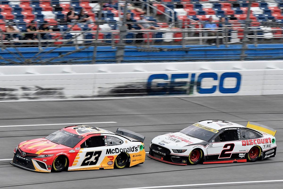 Talladega NASCAR: Wallace takes landmark win in rain-shortened race - Motor Informed