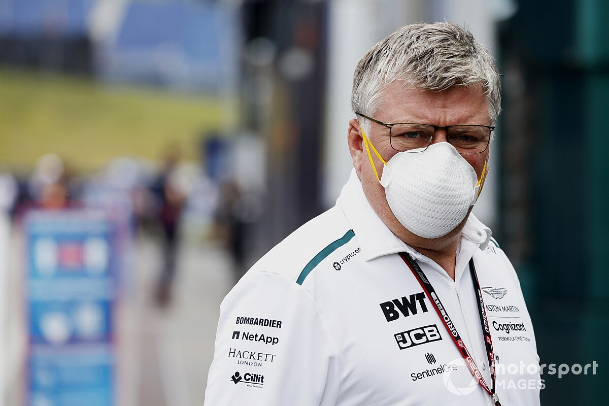 Szafnauer not threatened by Whitmarsh's arrival at Aston Martin - Motor Informed