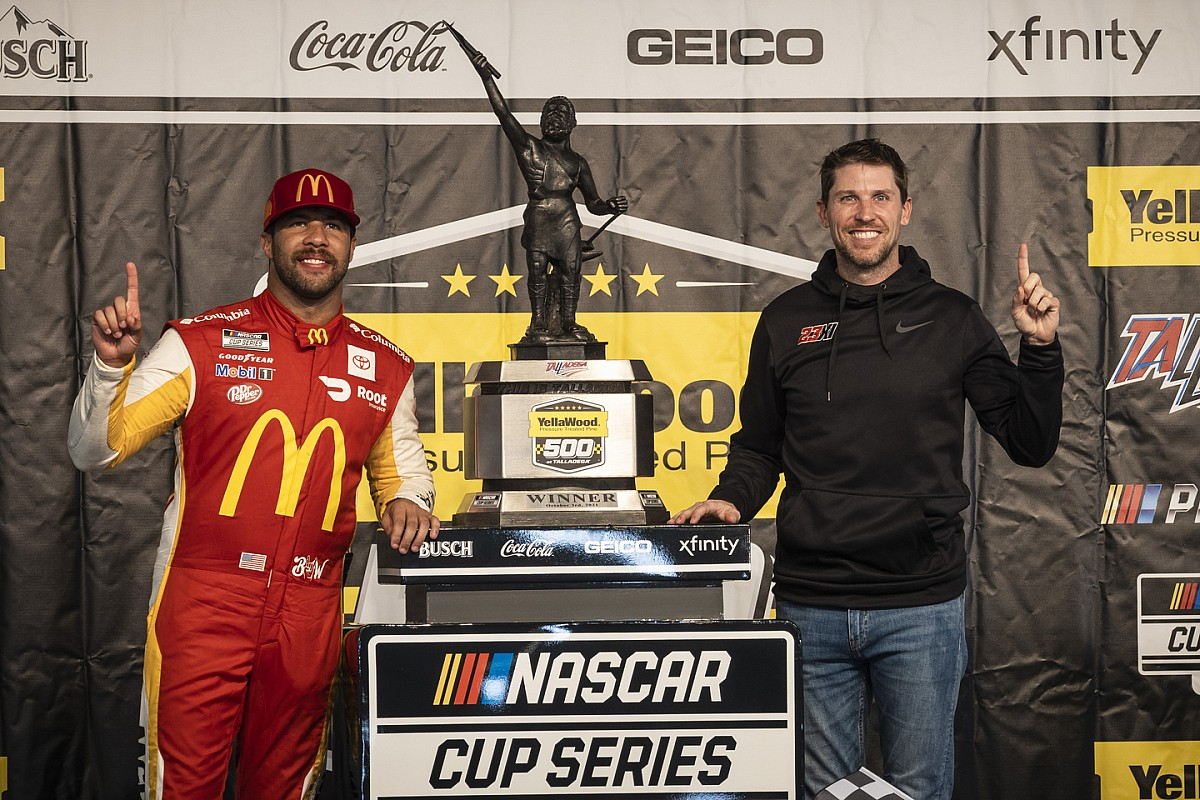 "Hamlin: Wallace's Talladega NASCAR victory ""extra particular"" than my very own - Motor Informed"