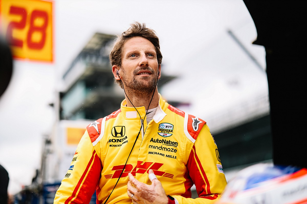 Grosjean eager to study from Castroneves and new Andretti team-mates - Motor Informed