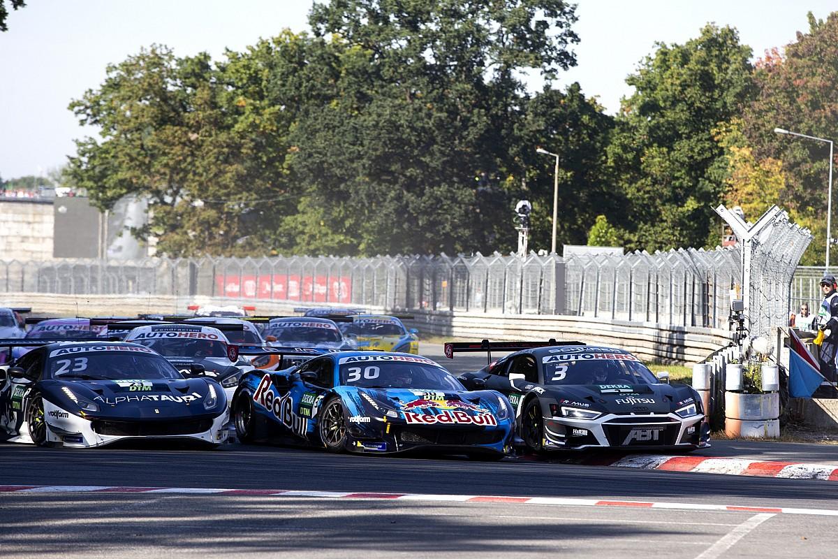 Van der Linde apologises to Lawson after Norisring DTM finale - Motor Informed