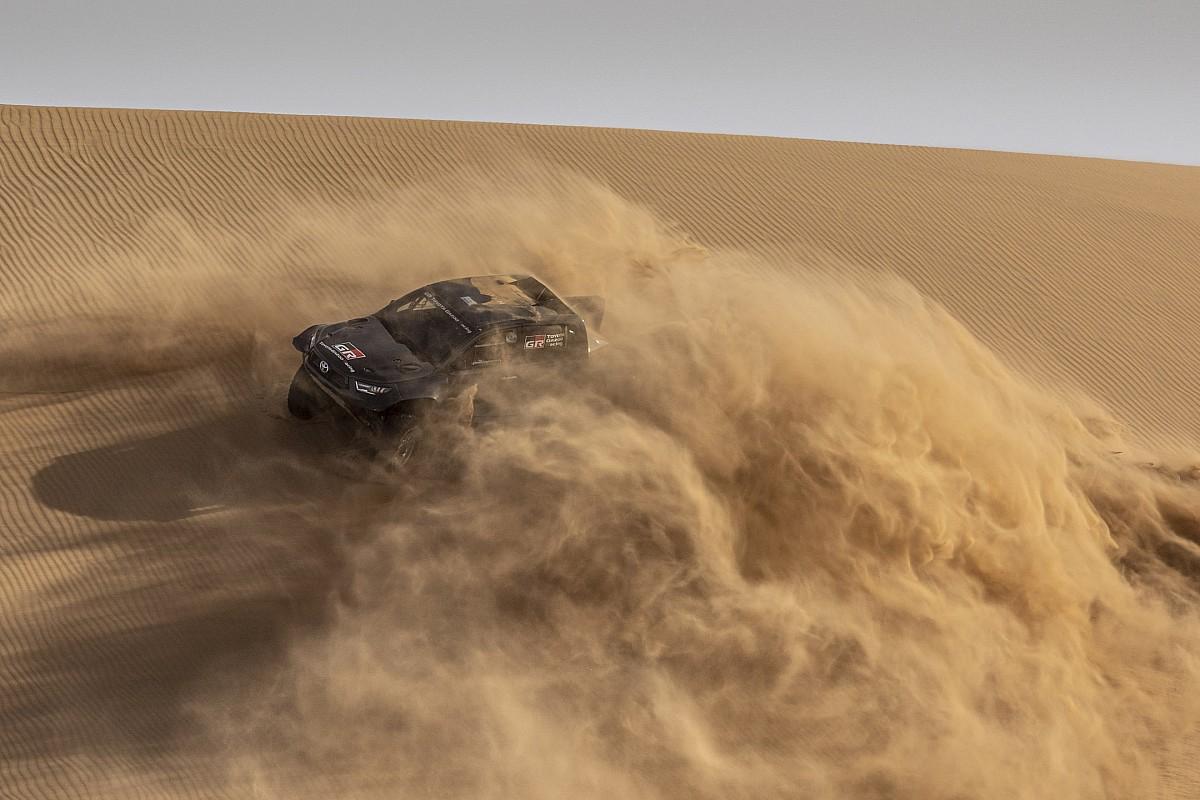 Nasser Al-Attiyah and Giniel de Villiers keep at Toyota - Motor Informed