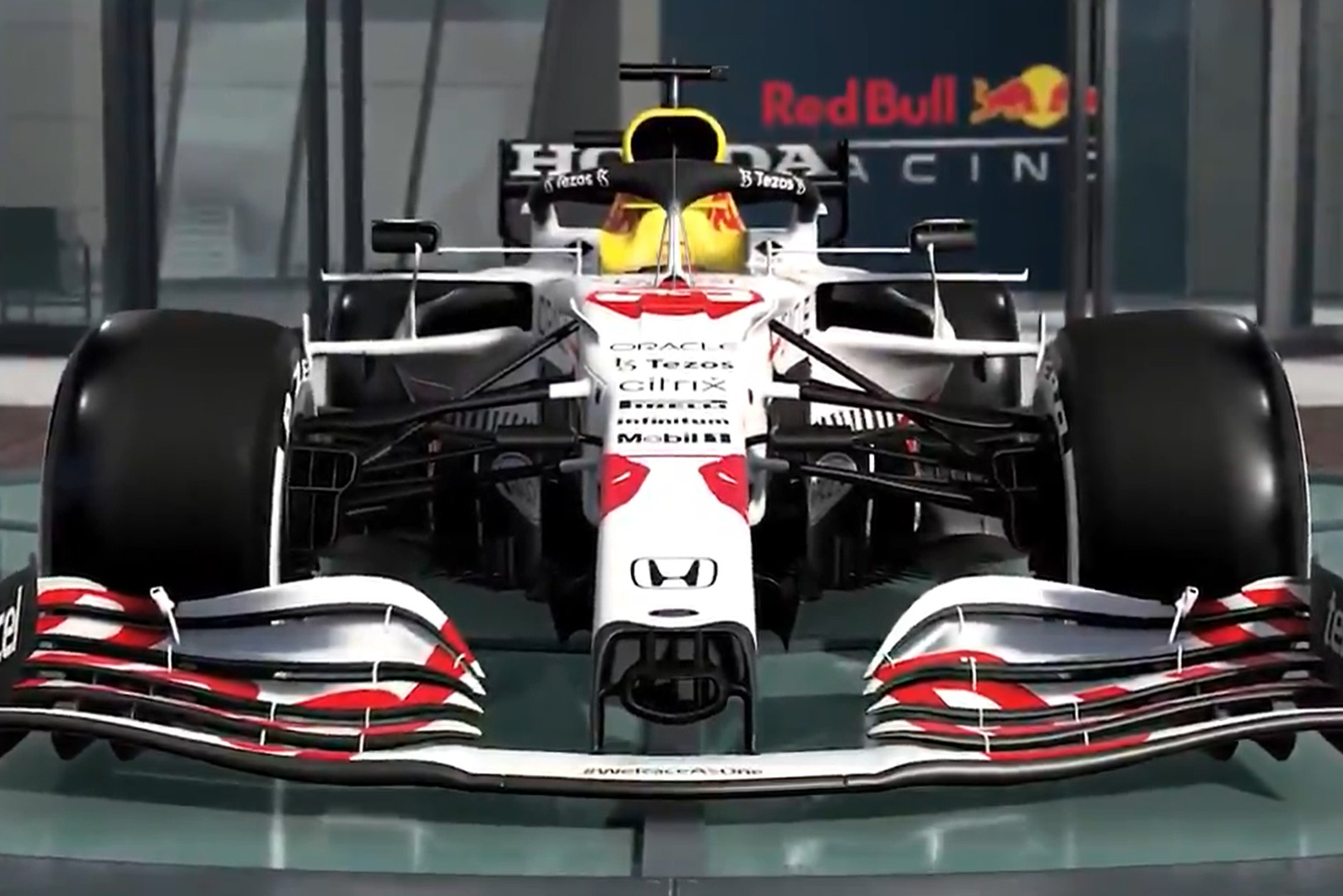 Pink Bull's Honda tribute livery is coming to the F1 2021 recreation - Motor Informed
