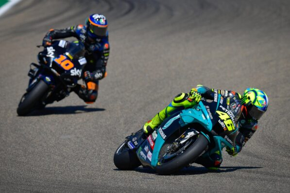 Rossi admits age makes it tougher for him to do enterprise - GP Inside - Motor Informed