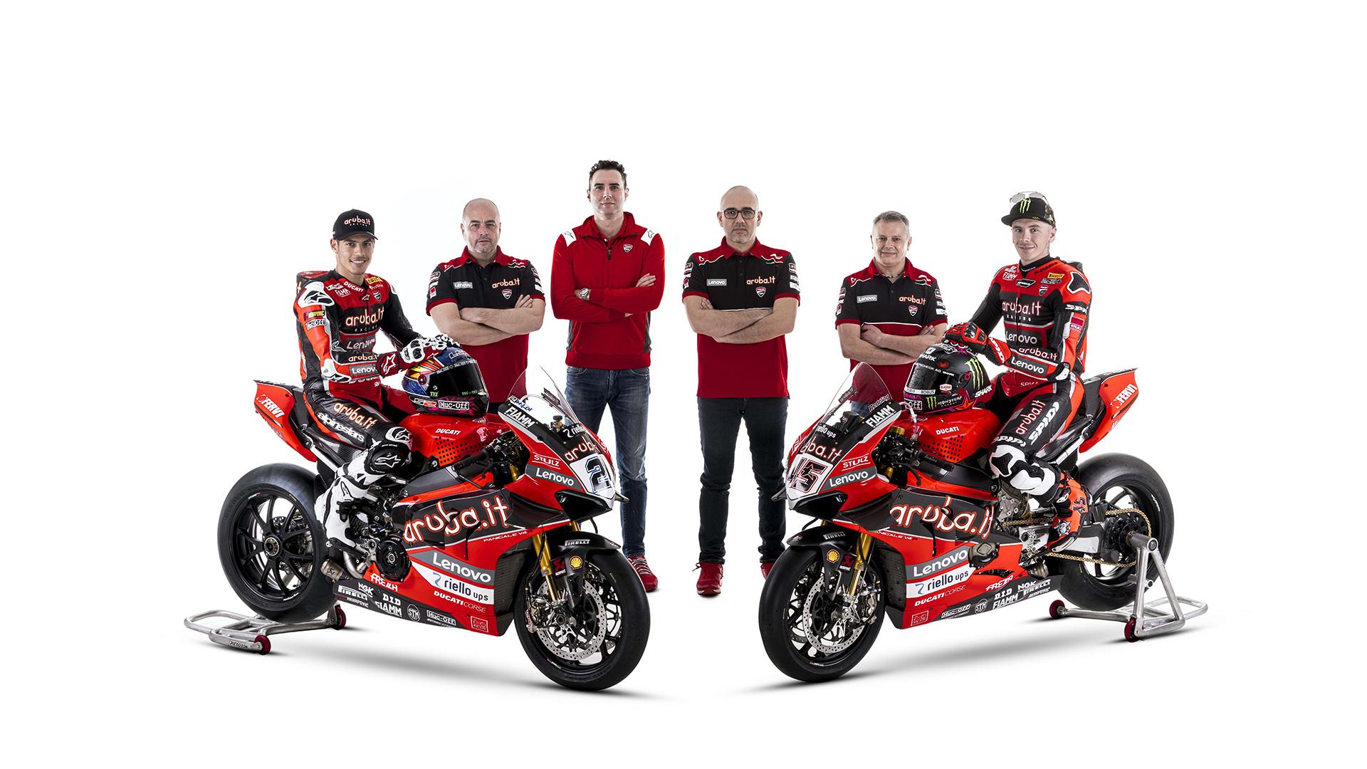 GALLERY - Superbike, the brand new Ducati Aruba by Scott Redding and Michael Rinaldi - Motor Informed
