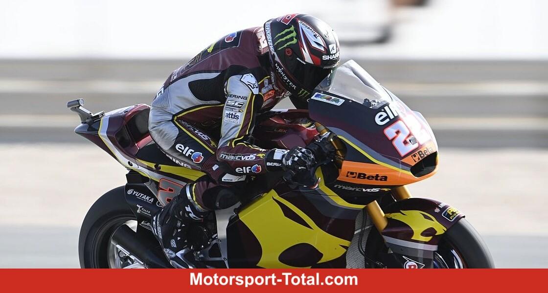 Moto2 FT3 in Qatar (2): Lowes defies the wind - Motor Informed