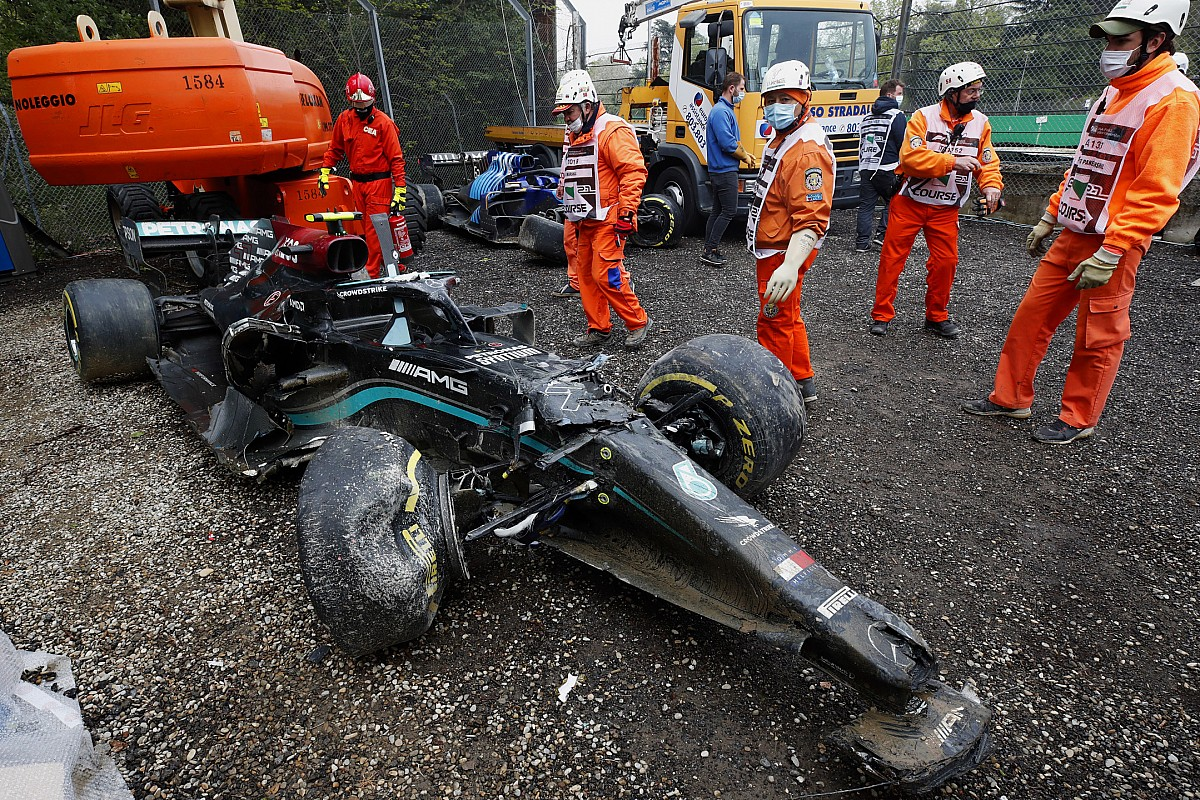 """Bottas: Imola F1 incident with Russell """"carried out and dusted"""" after apology - Motor Informed"""