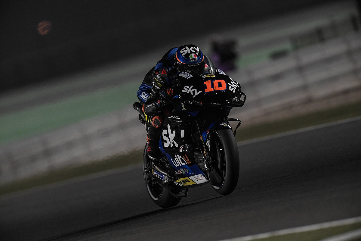 """MotoGP rookie Marini """"almost forgot"""" brother Rossi was on Qatar grid - Motor Informed"""