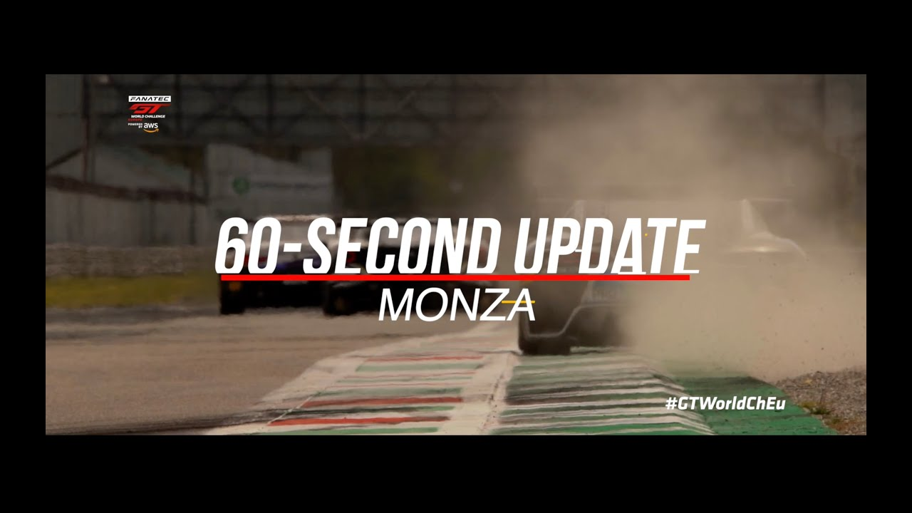 60 SECOND UPDATE! - Monza - #GTWorldChEu 2021 - Motor Informed