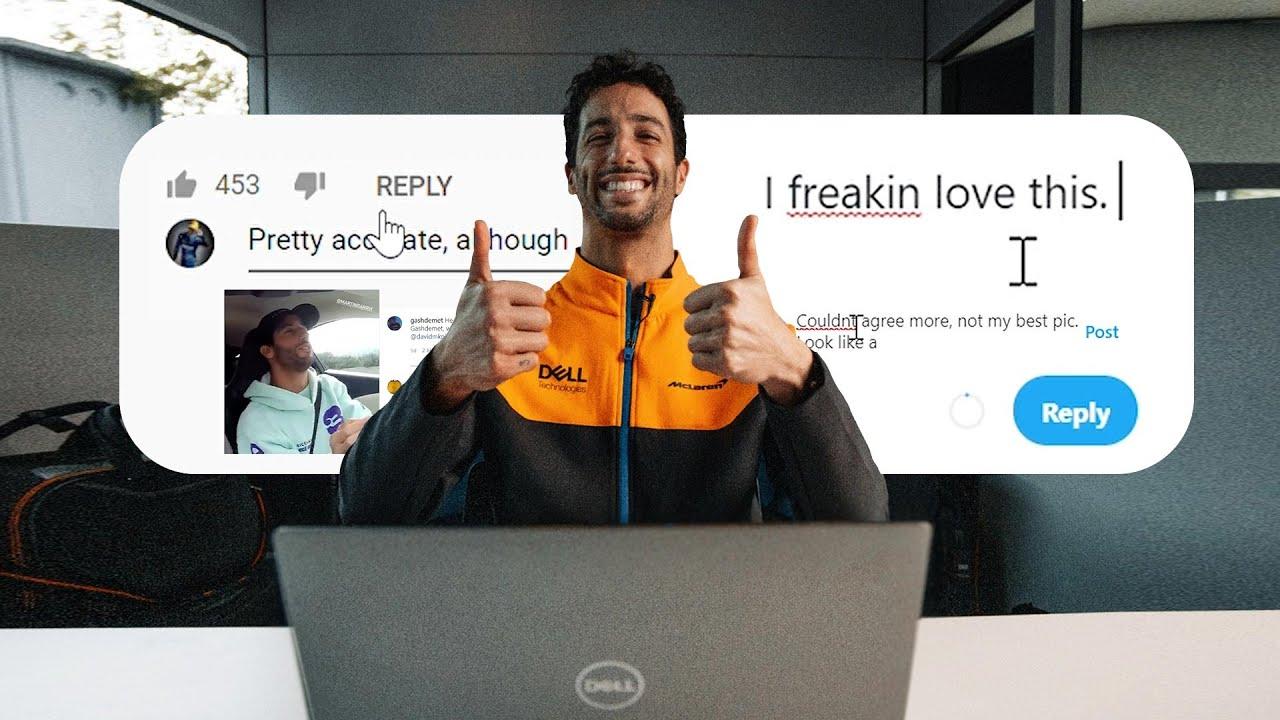 Daniel Ricciardo goes undercover on the internet - Motor Informed