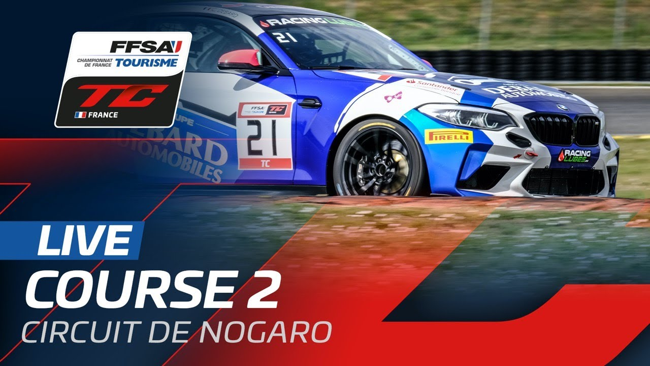 LIVE | Championnat de France FFSA Tourisme - Nogaro 2021 - Course 2 - Motor Informed