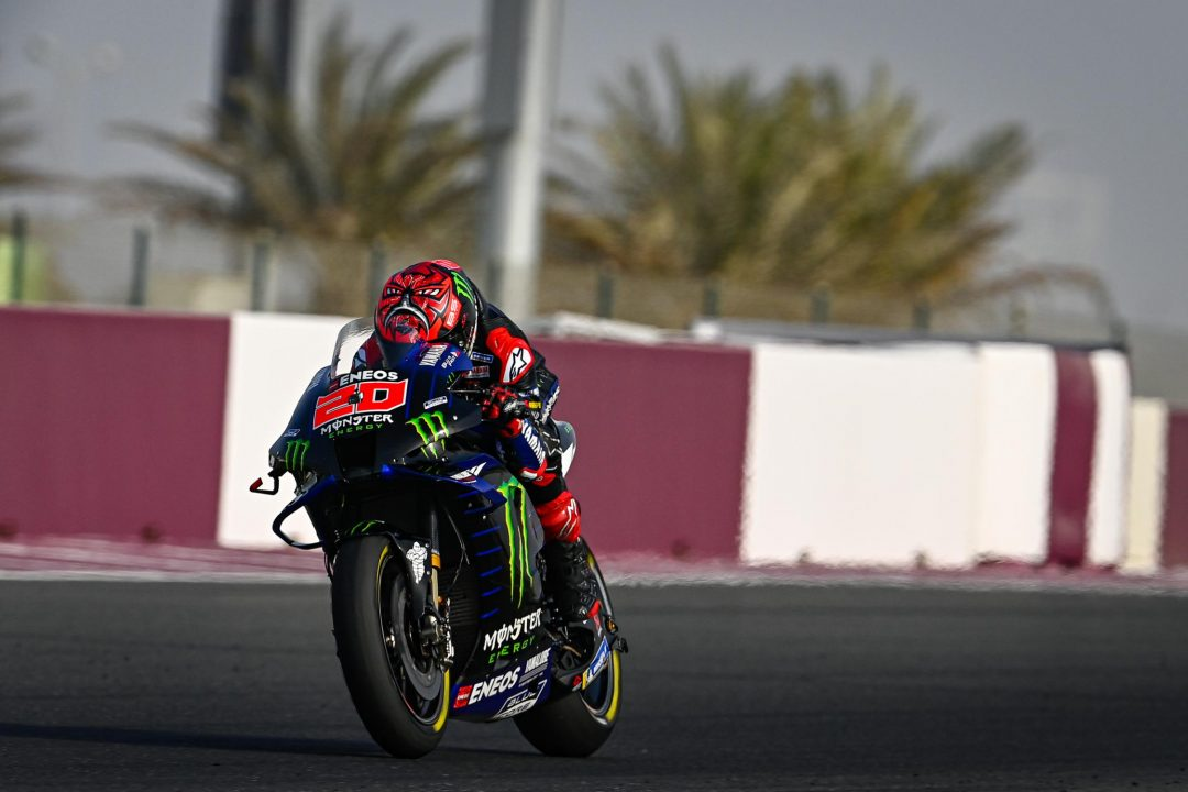 Fabio Quartararo precedes the Suzuki - Motor Informed