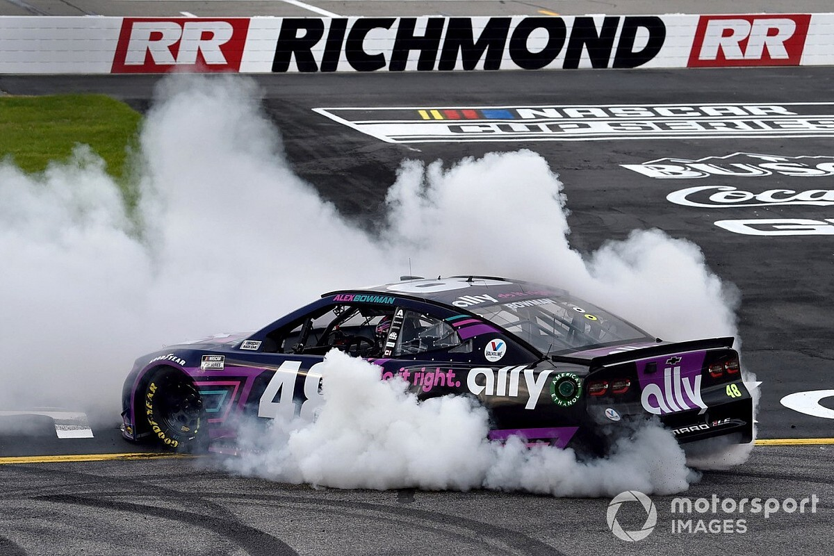 Richmond NASCAR Cup: Bowman snatches late win from long-time chief Hamlin - Motor Informed