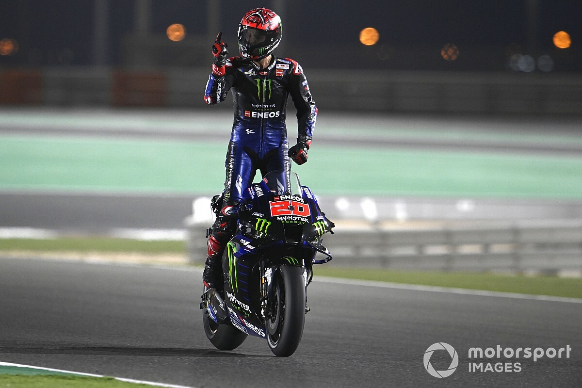 "Quartararo: Doha MotoGP win ""most particular"" - Motor Informed"