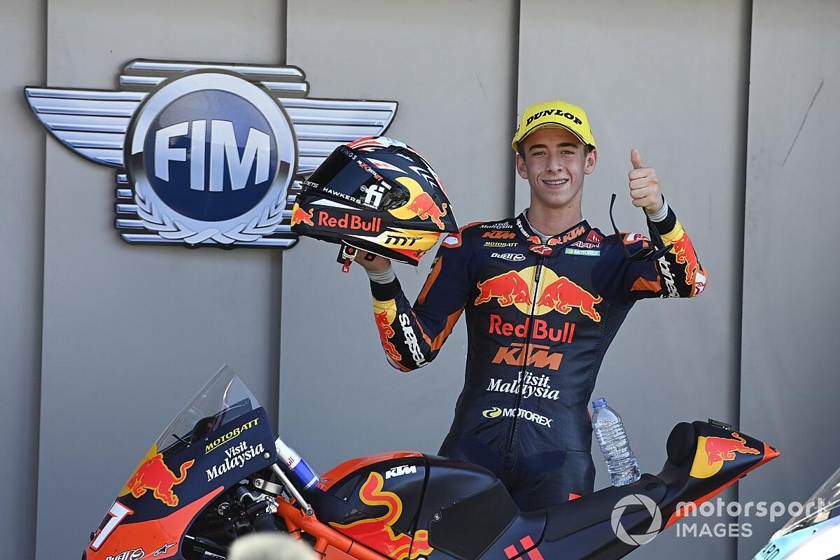 "Marquez: Star Moto3 rookie Acosta can be in MotoGP ""quickly"" - Motor Informed"