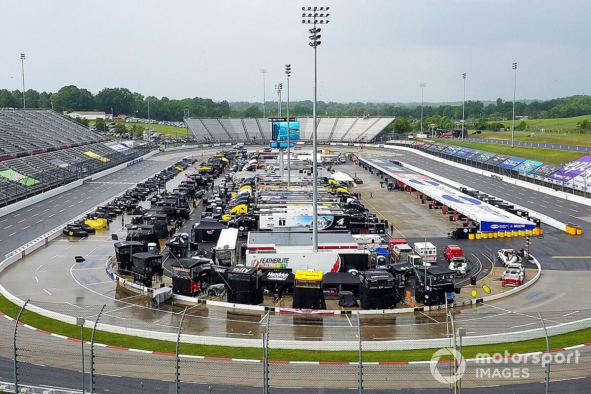 NASCAR testing rain tyres at Martinsville Speedway - Motor Informed