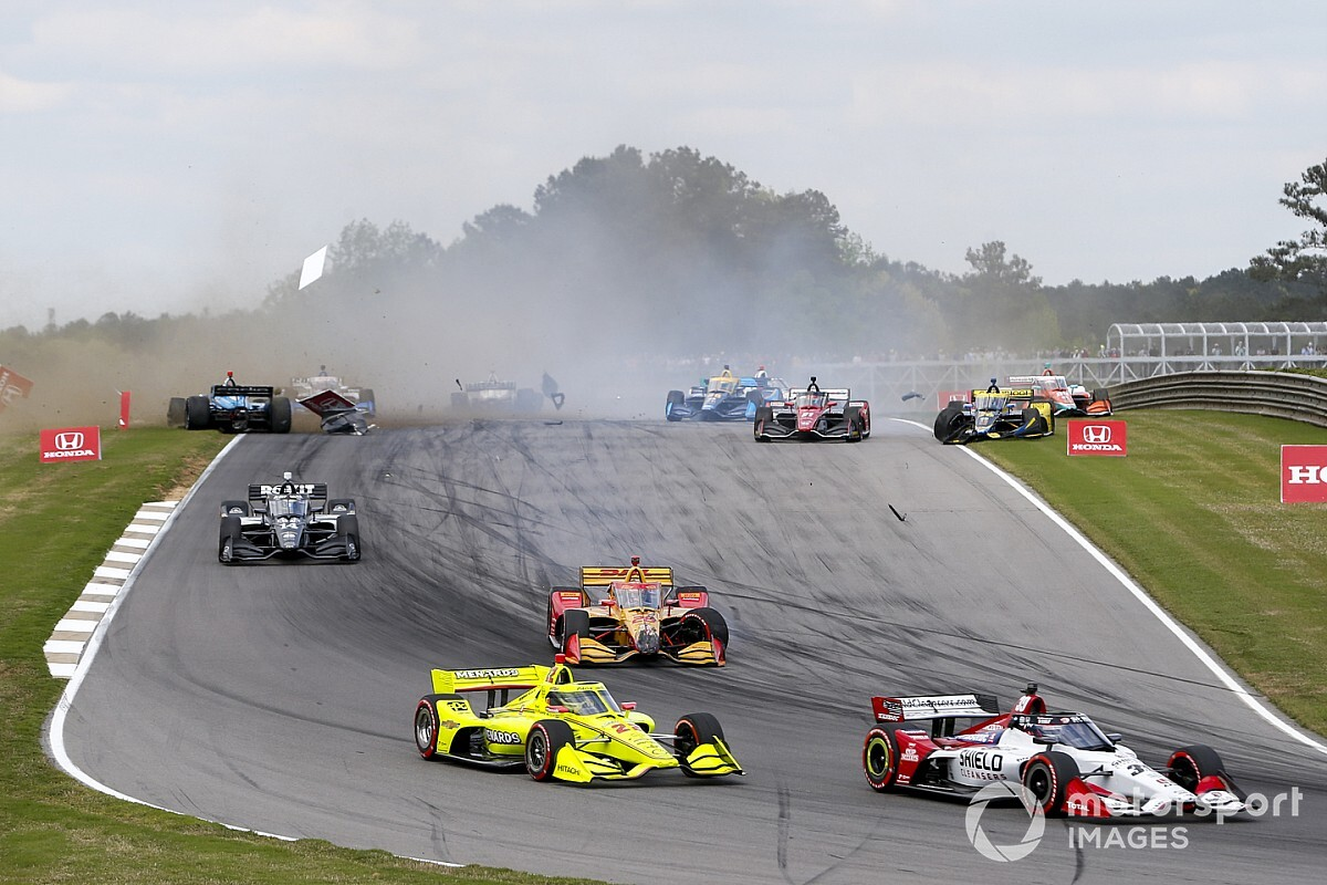 """Hunter-Reay: Aeroscreen """"probably saved my life"""" in IndyCar smash - Motor Informed"""