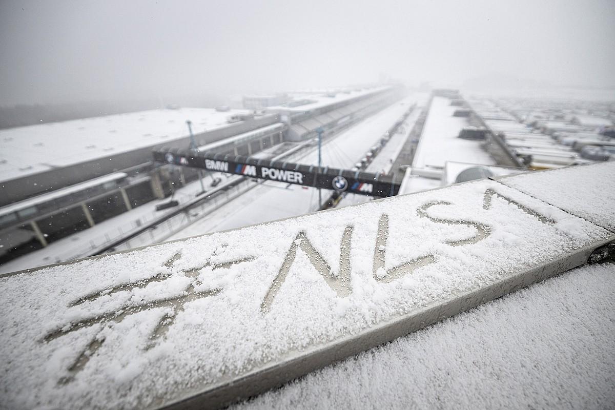 Heavy snow disrupts Nurburgring 24 Hours prep - Motor Informed