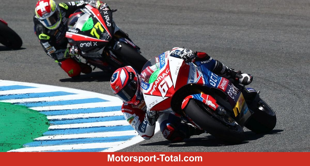 The MotoE start in Jerez was full of crashes: Zaccone wins ahead of Aegerter - Motor Informed