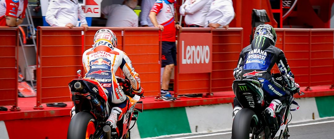 """MotoGP, Marc Marquez doesn't rule out the potential for stopping: """"There's a risk"""" - Motor Informed"""